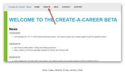 CREATE-A-CAREER Tool