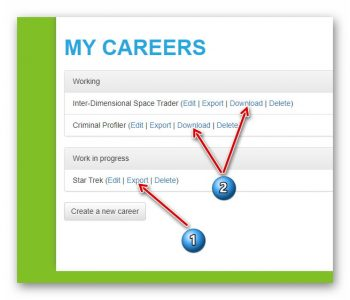 Export your career