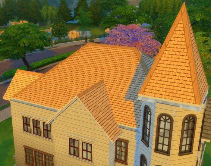 Mediterranean Roof Pattern
