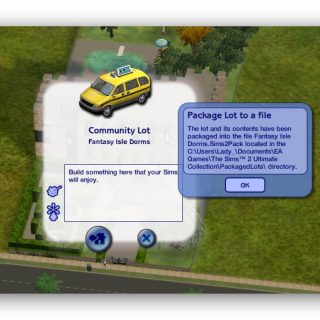 Packaging Lots For Upload - Sims 2