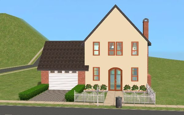 Building A 'Garage' With The Sims 2 Base Pack Only
