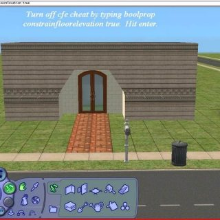 Sims 2 - Building Arches