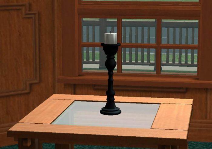 Sims 2 - Beginner's Meshing Tutorial - Simple Candlestick