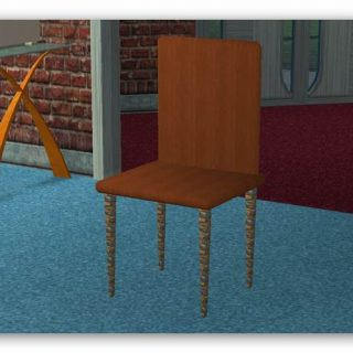 Sims 2 Meshing Tutorial - Simple Dining Chair