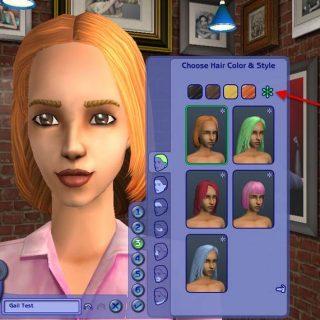 Sims 2 - Re-Colouring Hair Using Gimp - Basic Tutorial