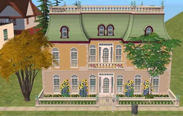 Sims 2 Mansard Roofing Tutorial