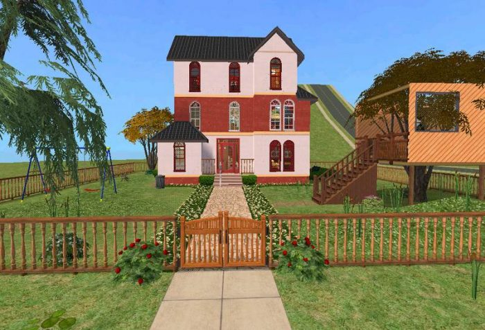 Building A Multi-Storey Home In The Sims 2