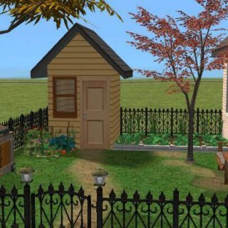 Create A Garden Shed In The Sims 2