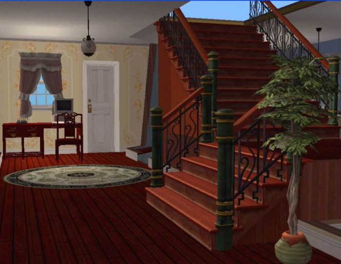 Split-Level Stairs - Sims 2