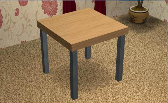 Sims 2 - Beginner's Meshing Tutorial - Basic Table