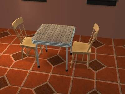 Sims 2 - Re-Colouring Objects Using Wizards of SimPE & Gimp