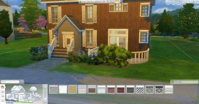 Sims 4 - Adding a foundation