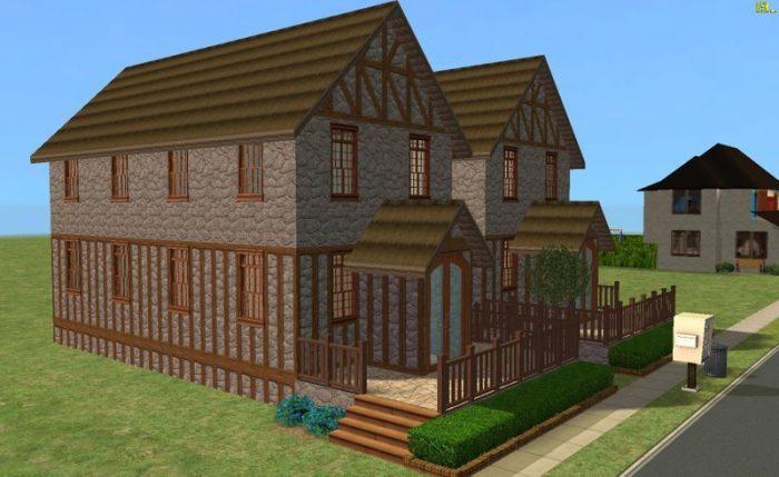 Tudor Town Houses – No CC
