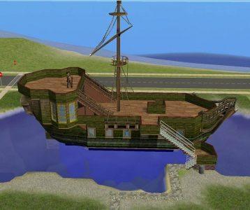 Fantasy Lot - Playable Pirate Ship