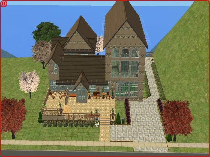 The Stars & Stripes Mansion