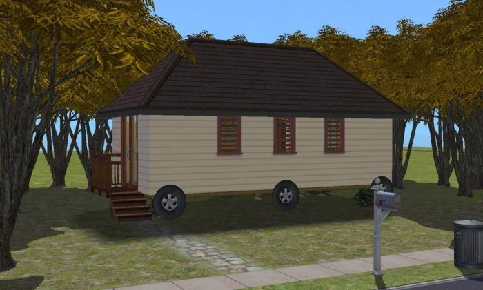 House on Wheels - Base Game Lot