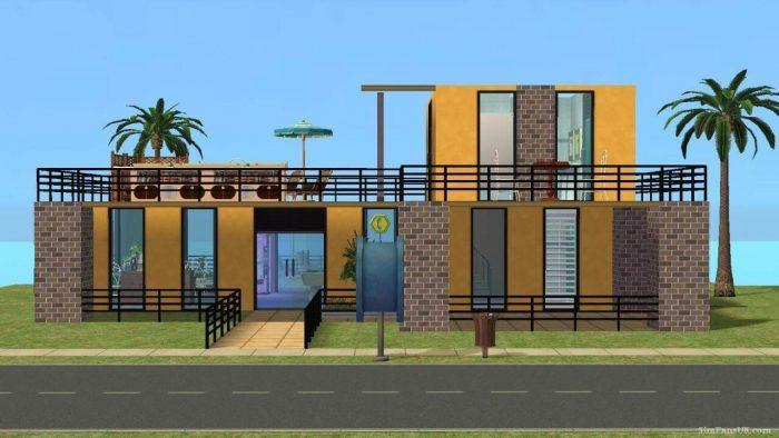 Beach Hangout - Sims 2