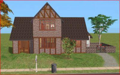 Old English Farmhouse - Base Game, No CC