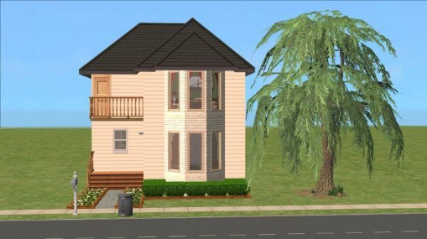 European Townhouse - EA Refurb, Base Game, No CC