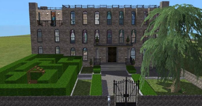Fantasy Island University Dorms