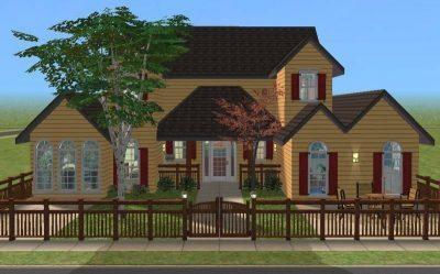 Riverwood Cottage - Base Game, No CC
