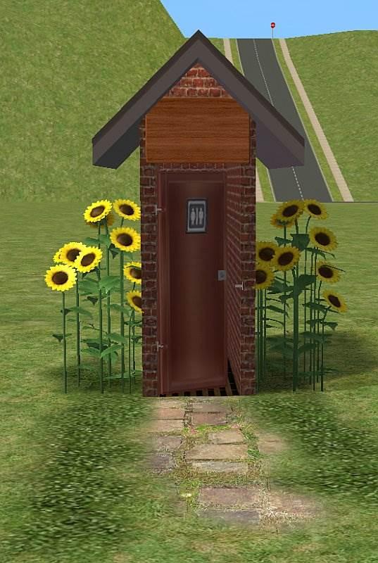 Outhouse - Stall toilet