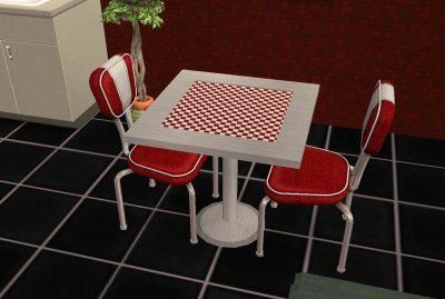 Diner/Cafe Table
