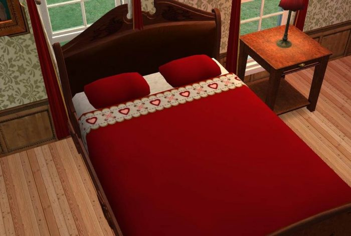 The Red Bed - Maxis Re-Colours