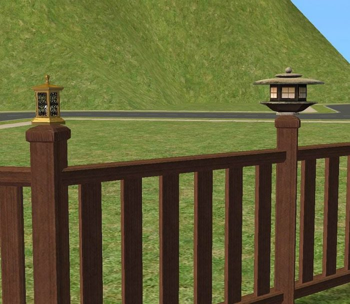 Fence Lamps