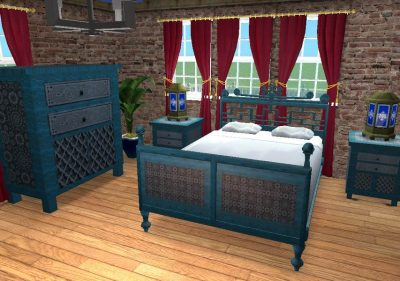 Moroccan Bedroom Set - Requested Recolours