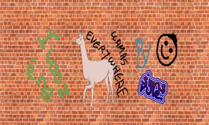 Wall Spatter & Graffiti