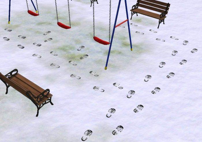 Decorative Footprints