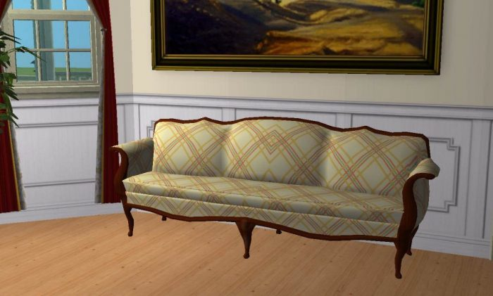 Lap Of Luxury Sofa Recolours