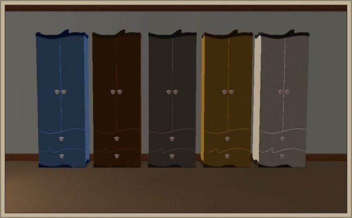 "Dresser-Armoire 1 Tile ""UnderWater"""