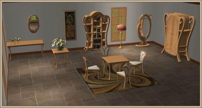 EA Art Nouveau Set - Addon
