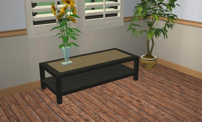 2-Layer Coffee Table Recolours - Requested