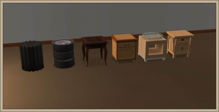 End Tables - conversion to LS