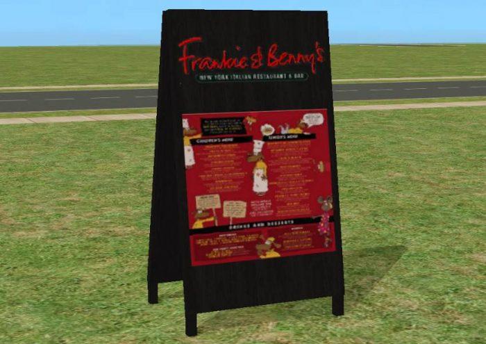 Restaurant Sandwich Boards
