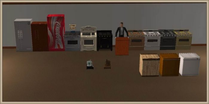 Kitchen Appliances - Conversion to LS