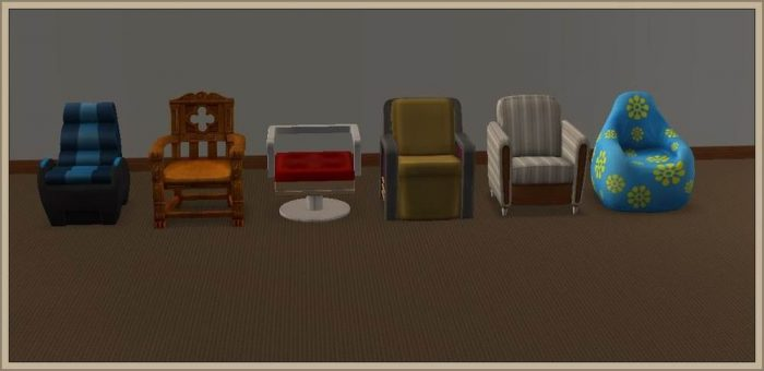Chairs Living - Conversion to LS