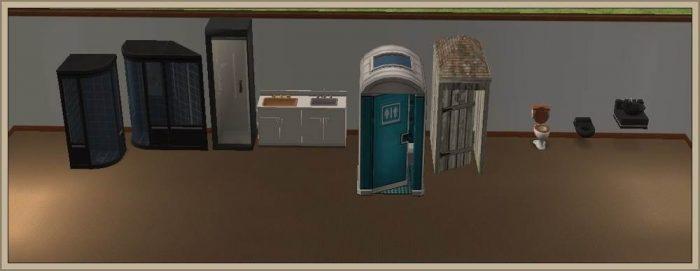 Bathroom Items - Conversion to LS