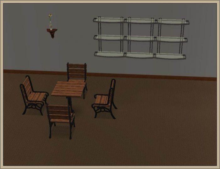 Shelves - conversion to LS