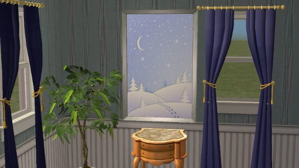 Winter Painting - January 2017 Challenge