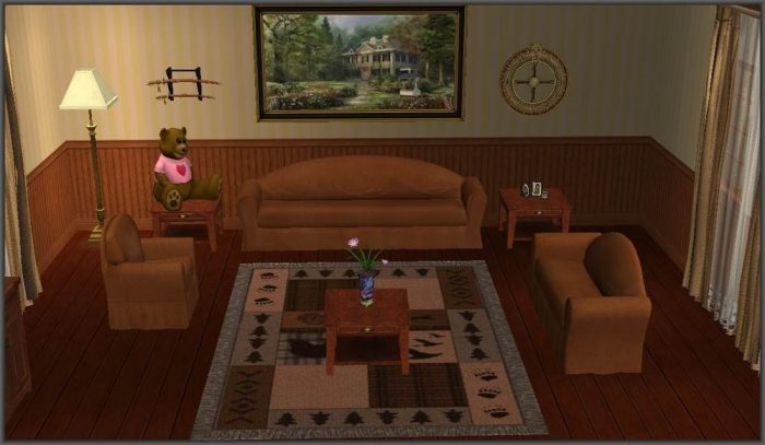 Sofa Set Quaint Recolor