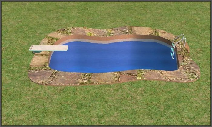 Swimming Pool Pond