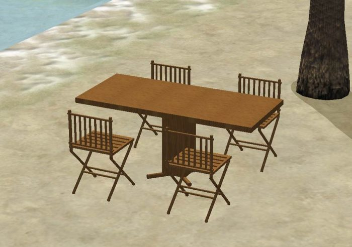 Tiki/Outdoor Dining Furniture