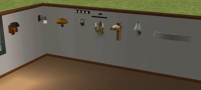 Wall Lamps - Conversion to LS