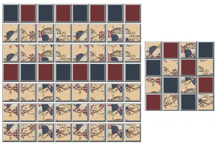 Walls & Floor Sets