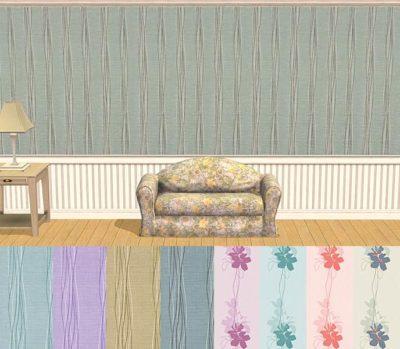 VillaNova Wallpapers Pippin & Pippin Stripe