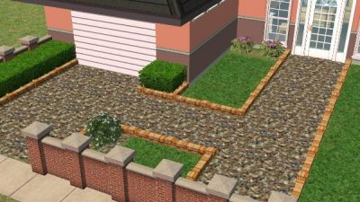 Drive Gravel Ground Cover